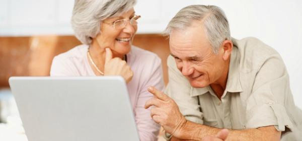 Uso Internet en la gente mayor