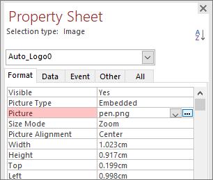Microsoft Access - Cabecera de la página del informe