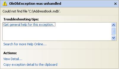 Escriba su propio código de base de datos en VB .NET
