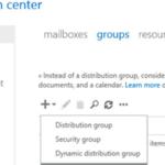 ¿Cómo crear y administrar grupos de distribución (listas) en Exchange?