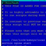 ¿Cómo administrar el inicio de servicios y scripts en CentOS / RHEL?