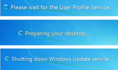 por favor espere el servicio de perfil de usuario