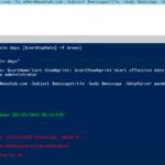 Verificación de la fecha de vencimiento del certificado SSL / TLS con PowerShell